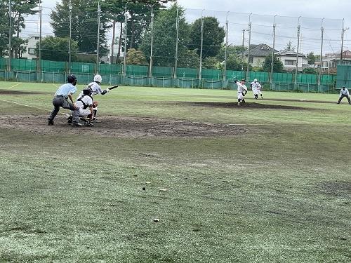 高校硬式野球部 秋季大会一次予選1回戦
