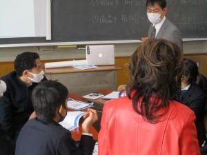 東京都支援 起業家教育(中3)の授業の様子が紹介されています