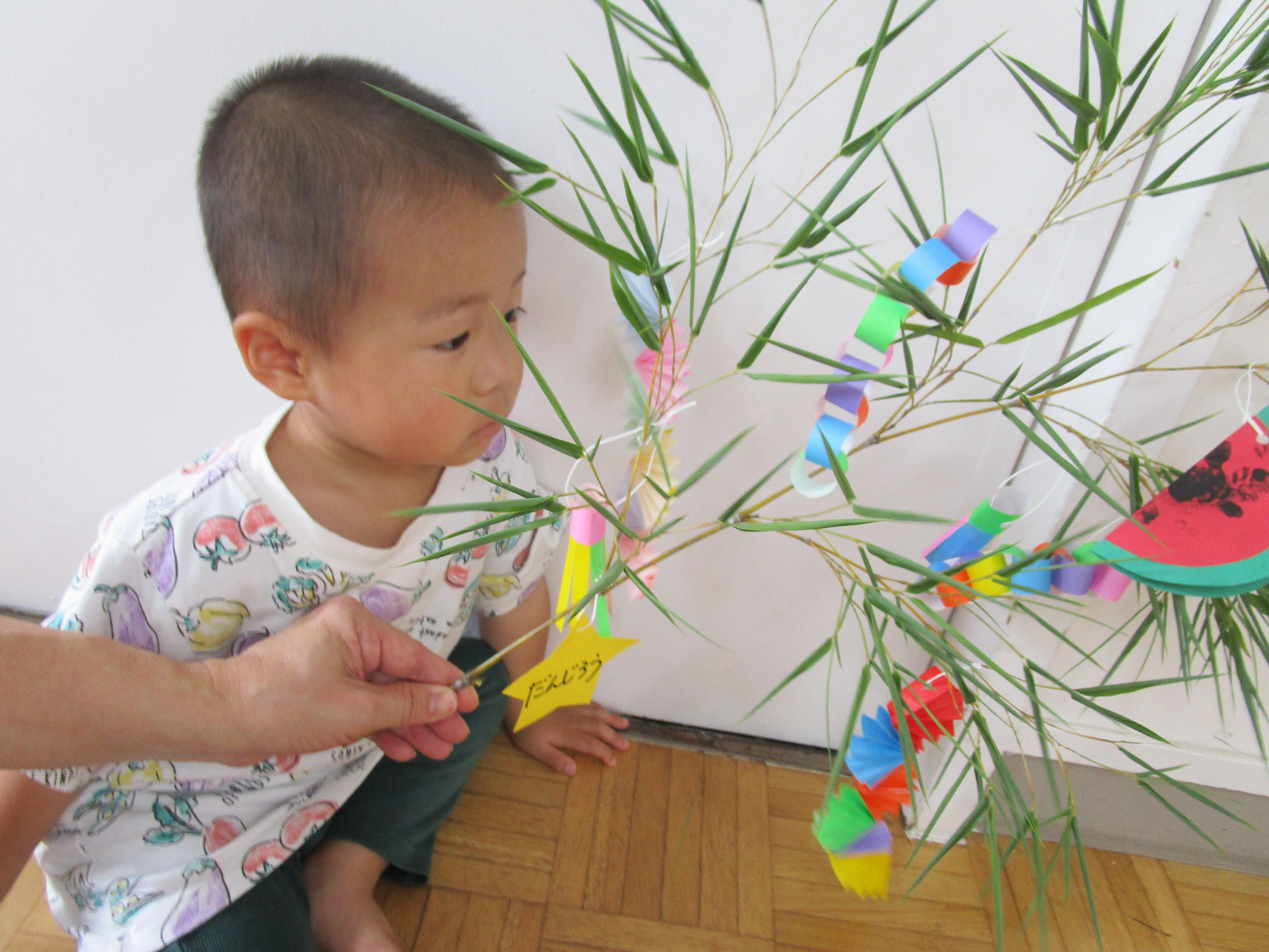 どんぐりクラス(プレ幼稚園)7月