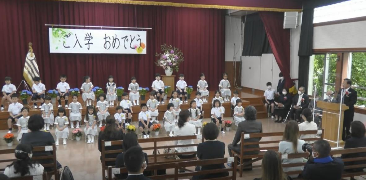 みんなが待ちに待った、入学式を実施しました!