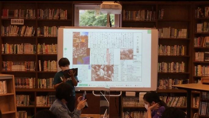 6年生 戦争調べ発表会